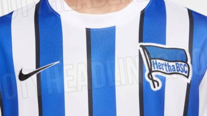 Das neue Heimtrikot 20/21 von Hertha BSC