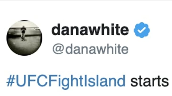 Dana White's UFC Fight Island is very real.