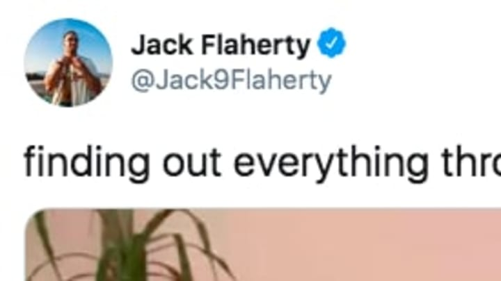 St. Louis Cardinals pitcher Jack Flaherty tweeted out a funny reaction to all the MLB updates.