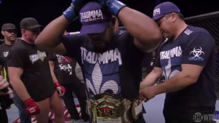 Daniel Cormier got a belt for winning the Strikeforce Heavyweight Grand Prix.