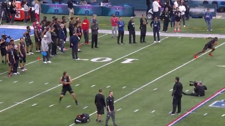 Oregon Ducks QB Justin Herbert throws great deep ball at NFL Combine