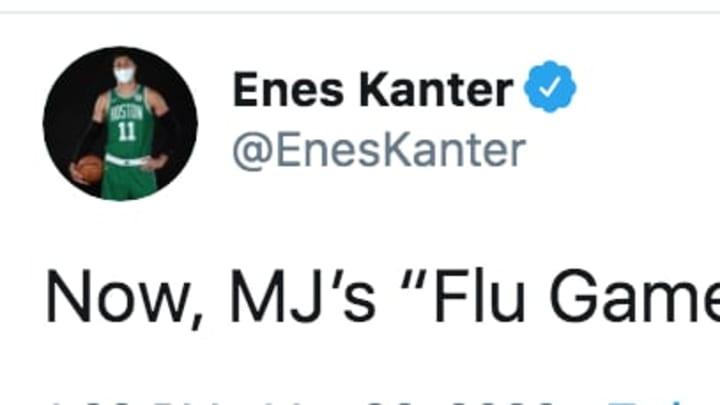 NBA's Enes Kanter steals joke on Twitter