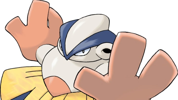 Hariyama is a pretty bulky Pokemon so to fight it effectively you need to leverage it's weaknesses effectively