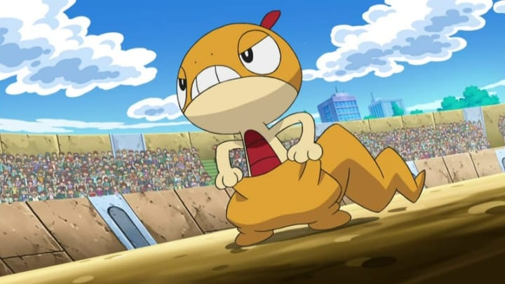 Scraggy will August's Breakthrough reward in Pokémon GO.