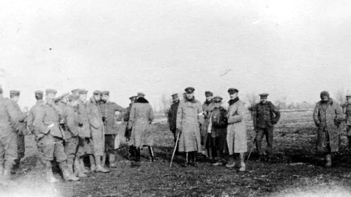 El partido de fútbol navideño entre alemanes e ingleses en la Primera Guerra Mundial 1