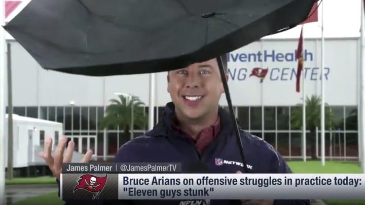 NFL Network reporter James Palmer.