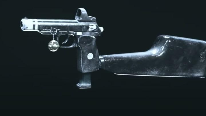 """The new """"Monviso"""" Sykov Pistol Blueprint."""
