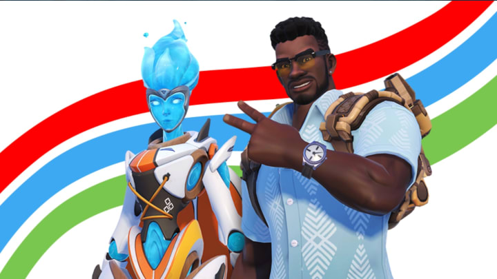We pick our favorite skins from the new Overwatch Summer Games event, running Aug. 4-25.