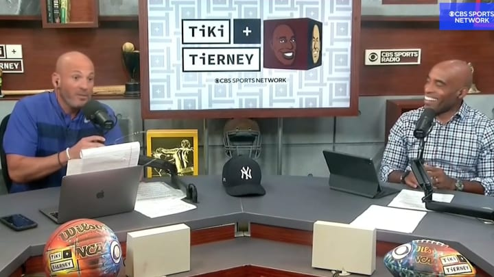 "Brandon Tierney and Tiki Barber on ""Tiki and Tierney"""