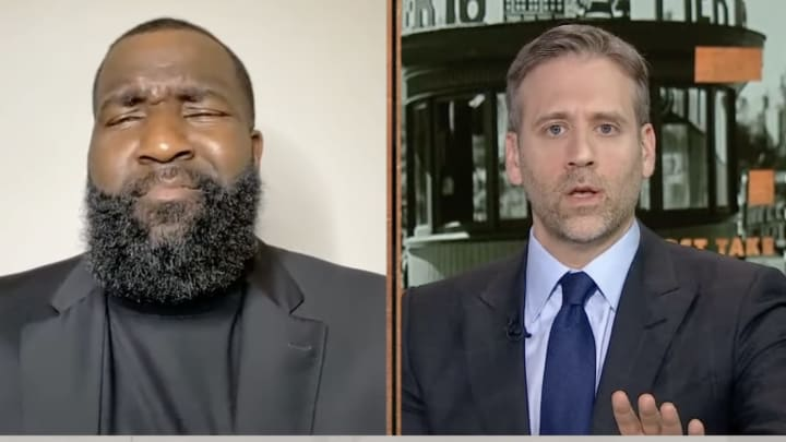 Kendrick Perkins Lost His Mind as Max Kellerman Kept Saying Stephen Curry Choked in the Finals