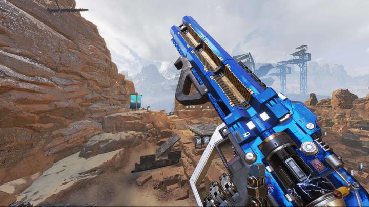 The Havoc rifle in Apex Legends