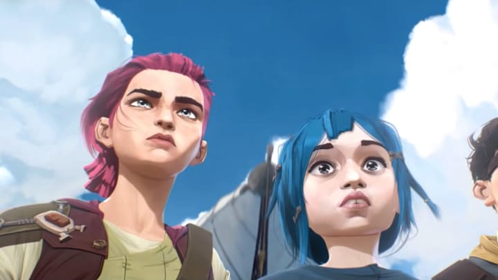 Vi and Jinx in their young age