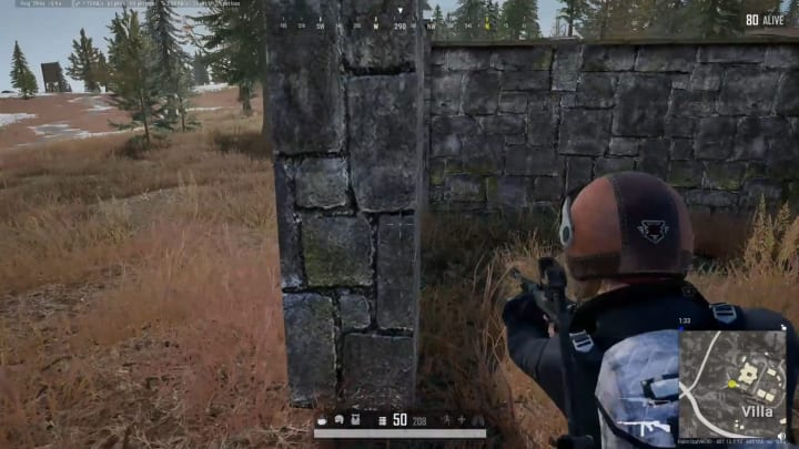 PLAYERSUNKNOWN'S BATTLEGROUNDS player dies from an opponent who looks to have been affected by floating and shooting through wall glitches.