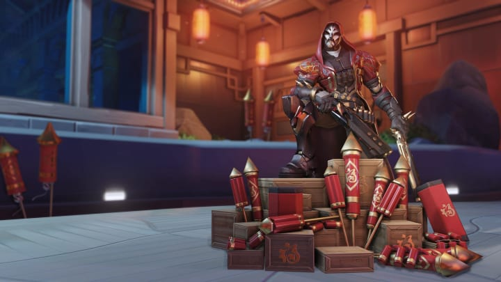 Imperial Guard Reaper is one of three new Epic skins in Lunar New Year 2021.