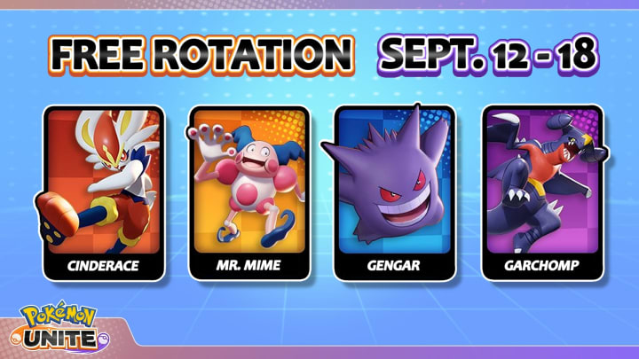 We've broken down everything players need to know about this week's Free Rotation selection in Pokemon UNITE.