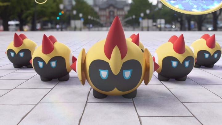 Several Galarian Pokemon, including Falinks, have been transported into Pokemon GO as part of the third Ultra Unlock.