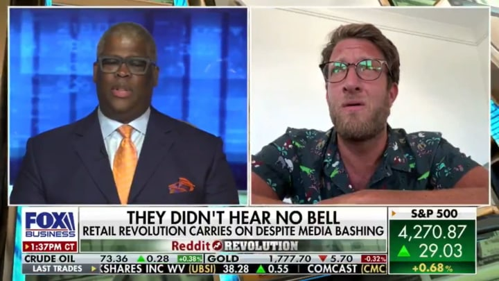 Charles Payne and Dave Portnoy on Fox Business
