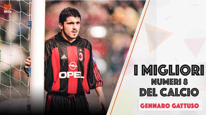 Gennaro Gattuso - I migliori numeri 8 del calcio