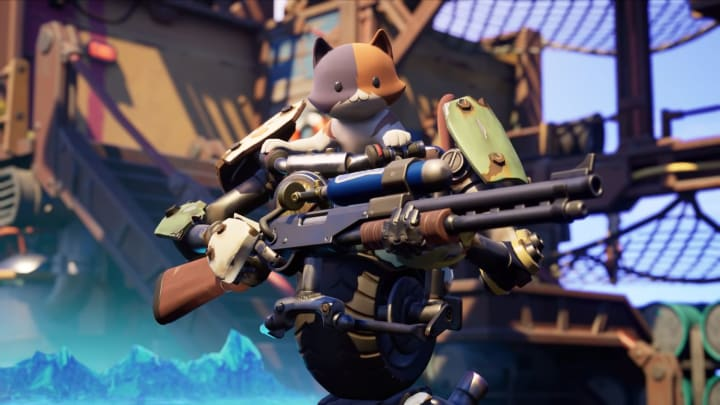 Baby Meowscles Meet Fortnite S Adorable Kit Following in his father's pawprints, kit is the next generation of meowscles who built a mechanical suit for him to ride on. baby meowscles meet fortnite s