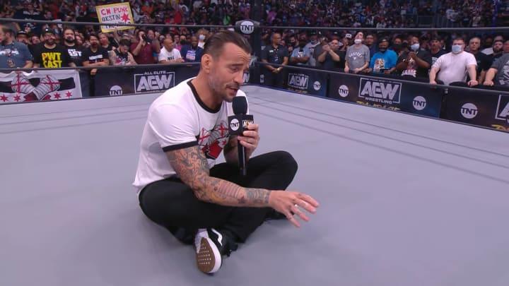 CM Punk on AEW Rampage