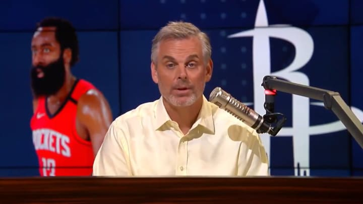"Colin Cowherd rips the Houston Rockets an ""small ball"""