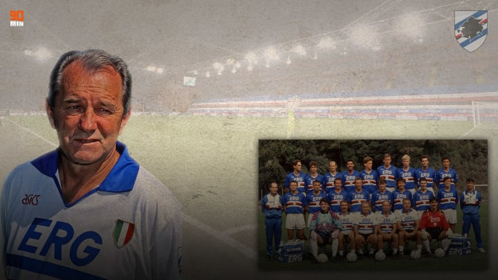 La Sampdoria Campione d'Italia 1990/91