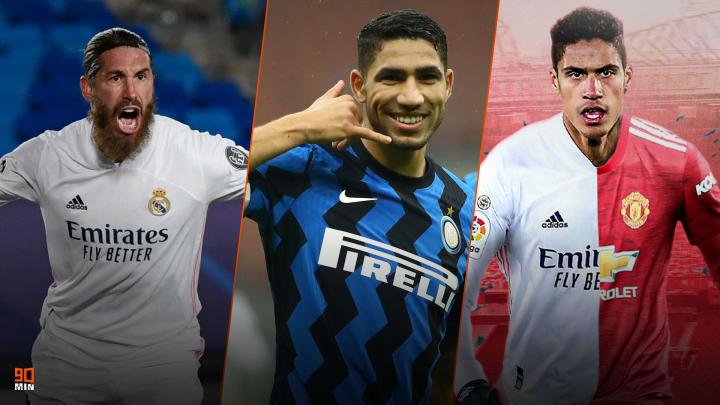 Ramos, Hakimi et Varane font l'actu mercato