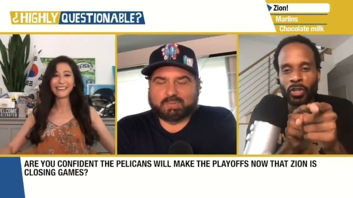 Mina Kimes, Dan Le Batard and Bomani Jones on Highly Questionable