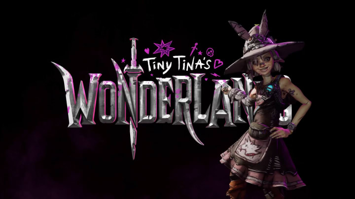 """Tiny Tina's Wonderlands is a new """"looter-shooter"""" game featuring Borderlands' Tiny Tina as a dungeon master-like character in a land of fantasy."""