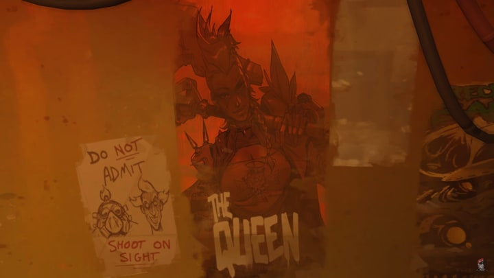 The Junker Queen has the qualities and personality to become the potential upcoming Overwatch hero