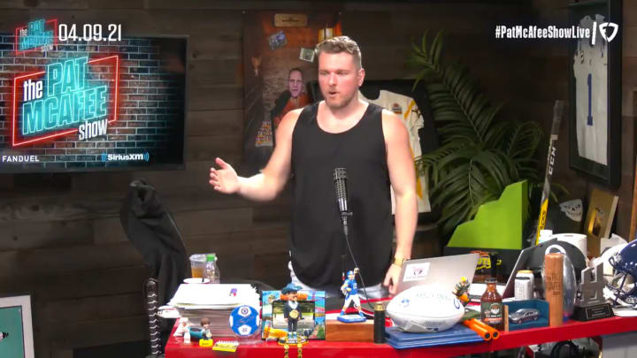 """Pat McAfee on the """"Pat McAfee Show"""""""