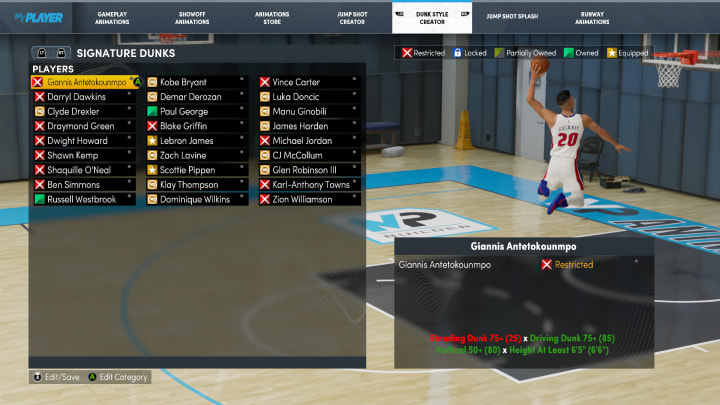 Here's a breakdown of the brand-new Dunk Style Creator in NBA 2K22 MyCareer on Next Gen.
