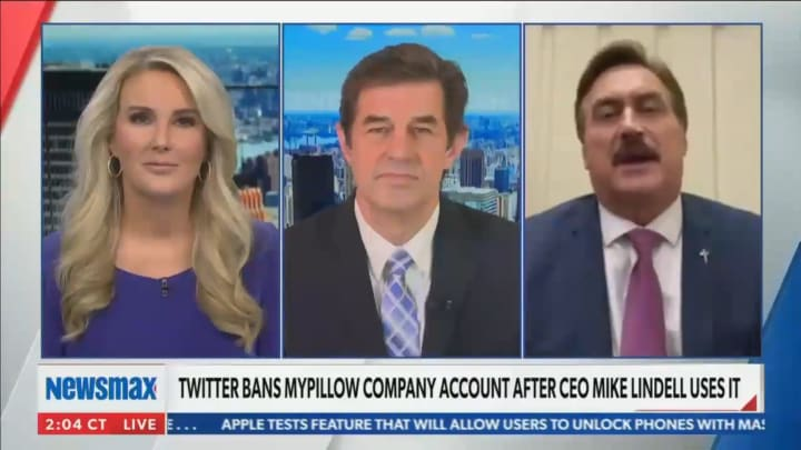 MyPillow CEO Mike Lindell on Newsmax