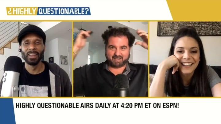 "Bomani Jones, Dan Le Batard and Katie Nolan on ""Highly Questionable"""