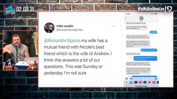 Pat McAfee breaks down Andrew Luck return rumors