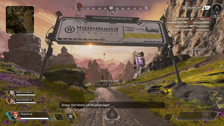 Apex Legends teasers appear to indicate World's Edge will see map changes in the near future.