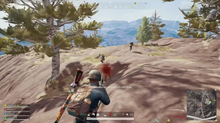 A squad wipe? With two shotguns?