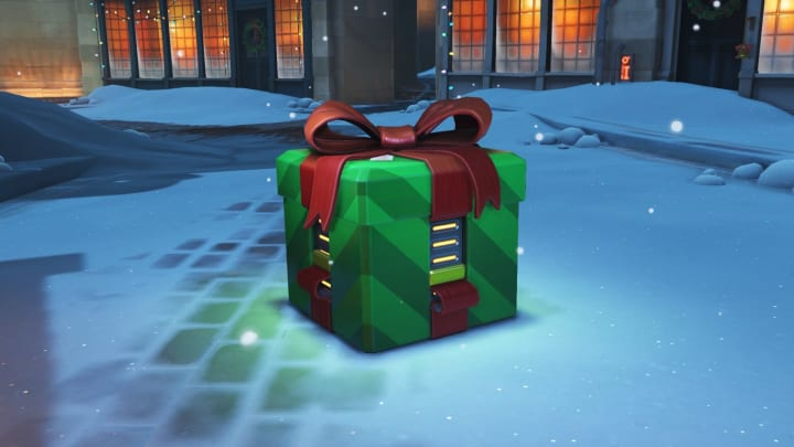 How do you get free Christmas lootboxes in Overwatch?