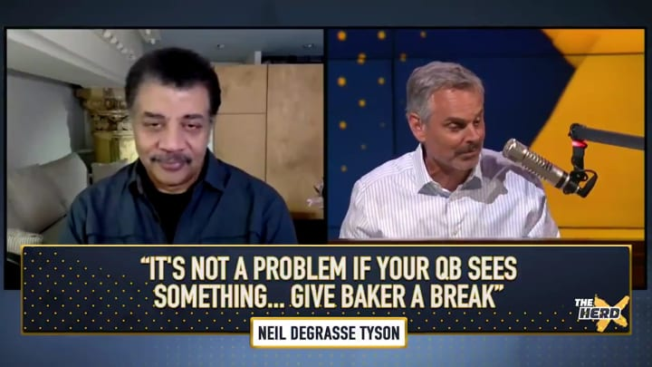 """Neil deGrasse Tyson and Colin Cowherd on """"The Herd"""""""