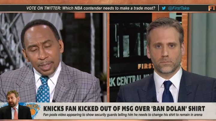 """Stephen A. Smith and Max Kellerman on """"First Take"""""""