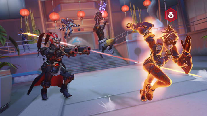 Overwatch was among the games for which Chicken Drumstick sold cheats.