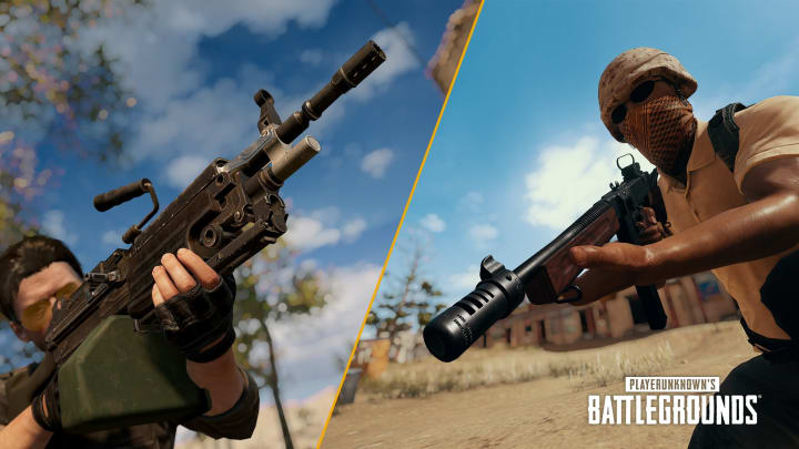 The Tommy Gun and the M249 receive balance changes in PUBG Console Update 6.3.