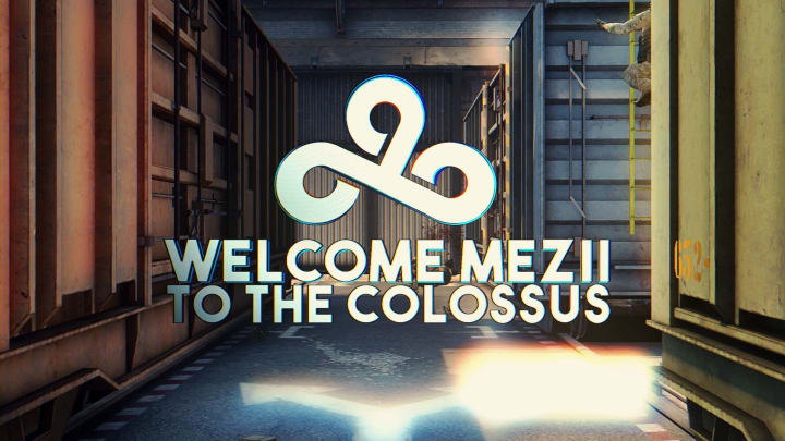 Mezii is the second British player on the new Cloud9 roster.