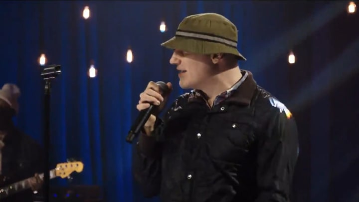 """The New Radicals perform """"You Get What You Give"""" during Joe Biden's Inaugural celebration"""