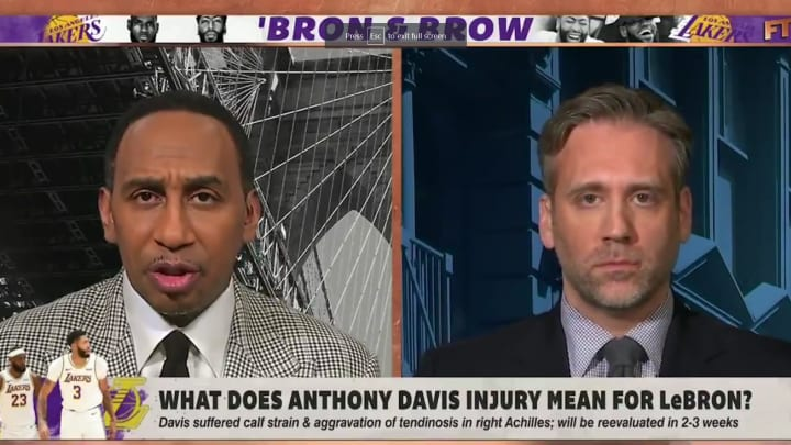 """Stephen A. Smith and Max Kellerman on ESPN's """"First Take"""""""