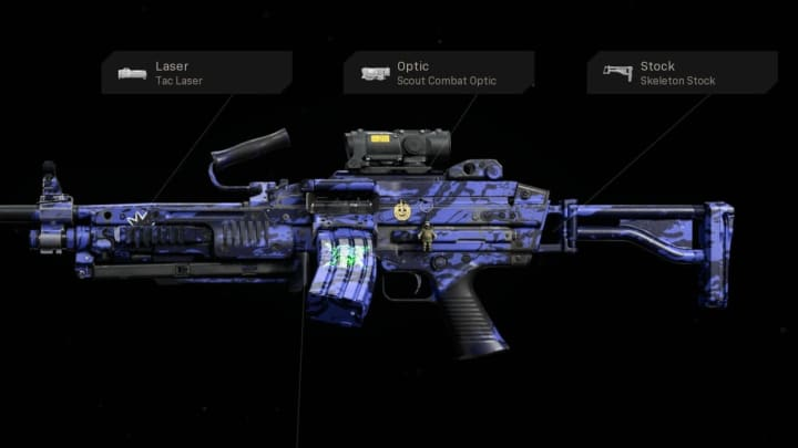 The Bruen MK9 was introduced in season 3 and is a versatile LMG/AR Hybrid that can excel as both with minimal downsides with the right build.