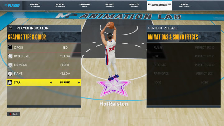 Here's how to get the Star Player Indicator in NBA 2K22 MyCareer on Current Gen and Next Gen.