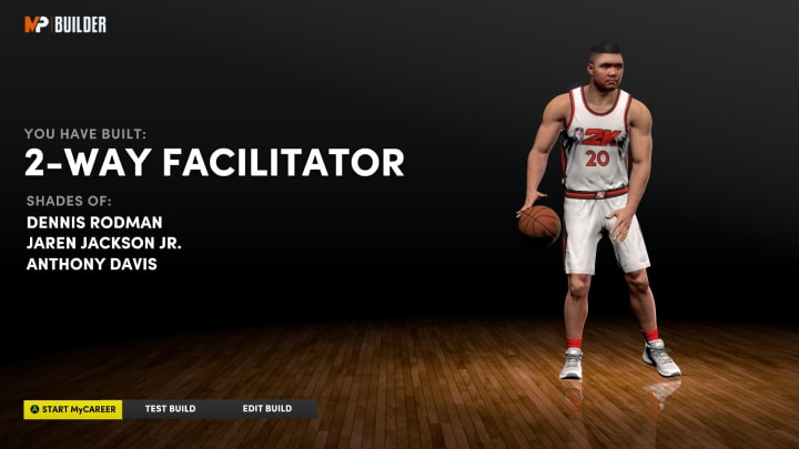 Here is the best big man build for those looking to be able to hold their own in both the park and Rec Center in NBA 2K22 MyCareer on Next Gen.
