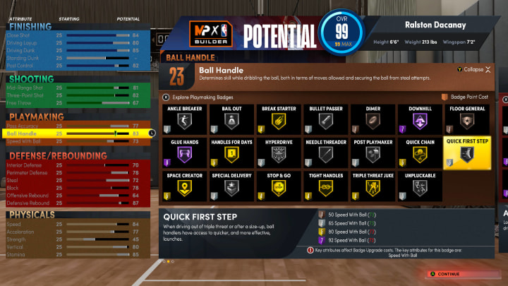 Before pouring in that valuable VC into your Next Gen NBA 2K22 MyPlayer build, here are some of the most important Badge requirements to take note of.