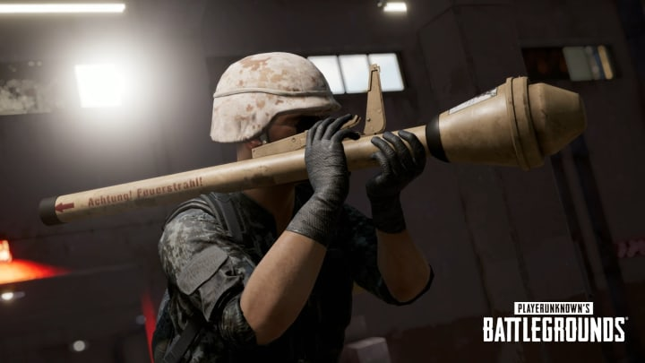 The Panzerfaust rocket launcher is coming in PUBG Update 6.3.